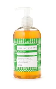 Love Nature NYC Tea Tree Mint Hand & Body Wash
